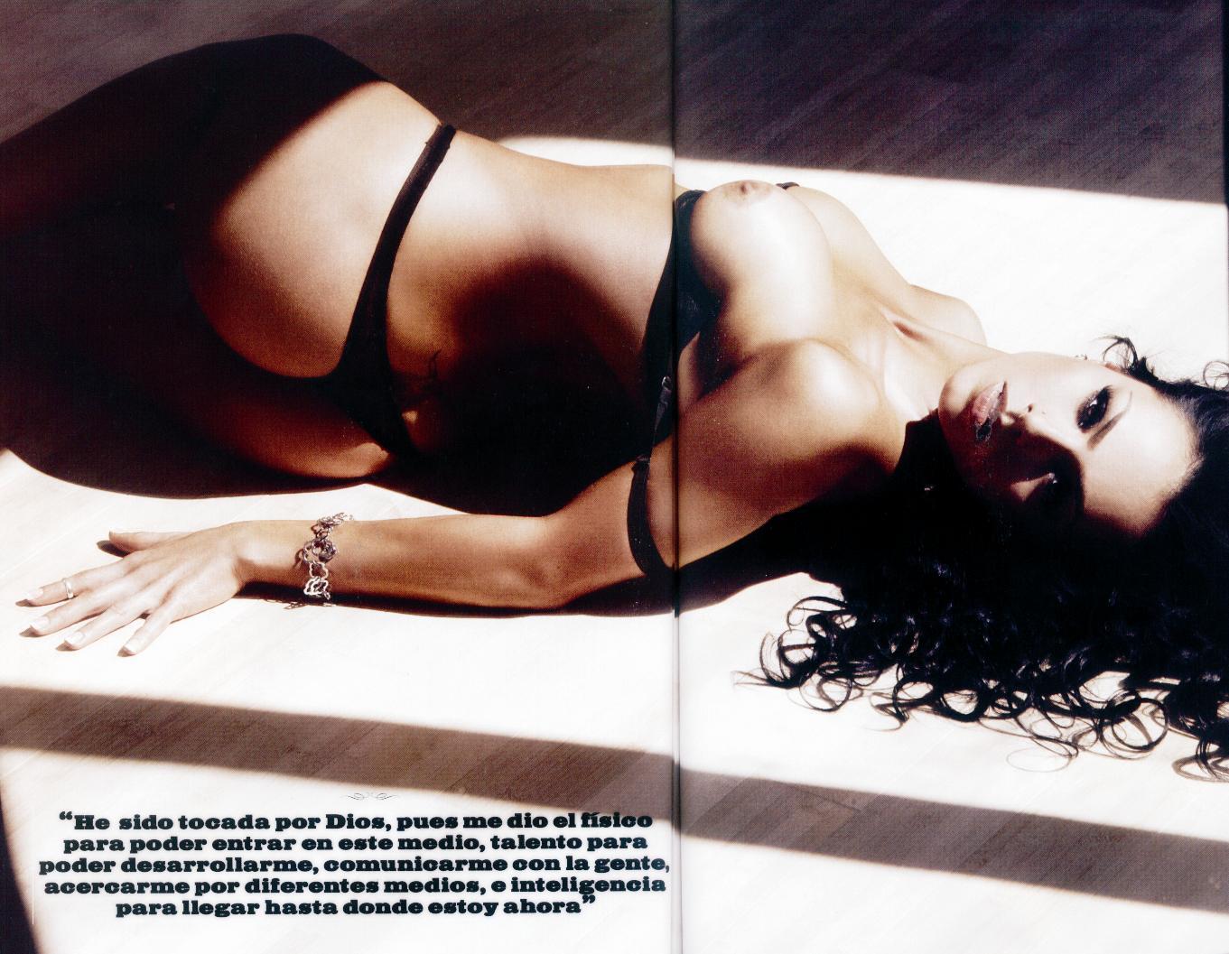 Ivonne Montero Pletamente Desnuda Revista H