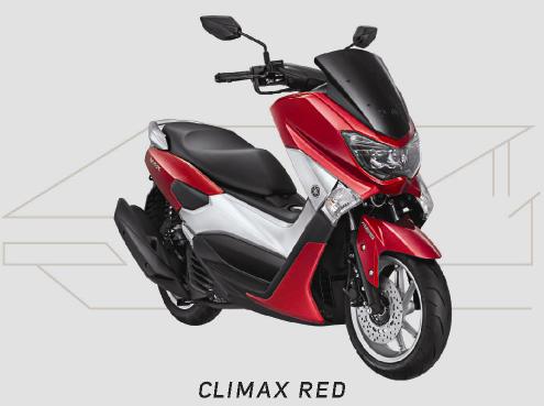 Yamaha NMAX Warna Cimax Red
