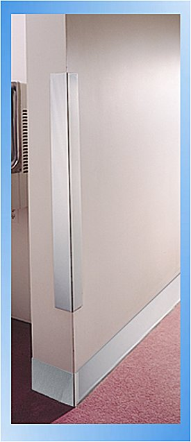 Steel Corner Protection : Stainless steel corner guards images