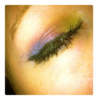 eye shadow eyelash extension