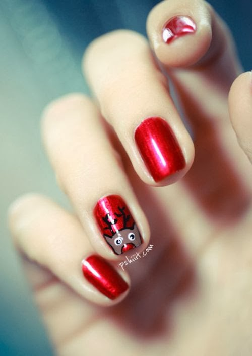 DIY Red Animated Nail Art Design With Powerful Grace | DIY Fashion List