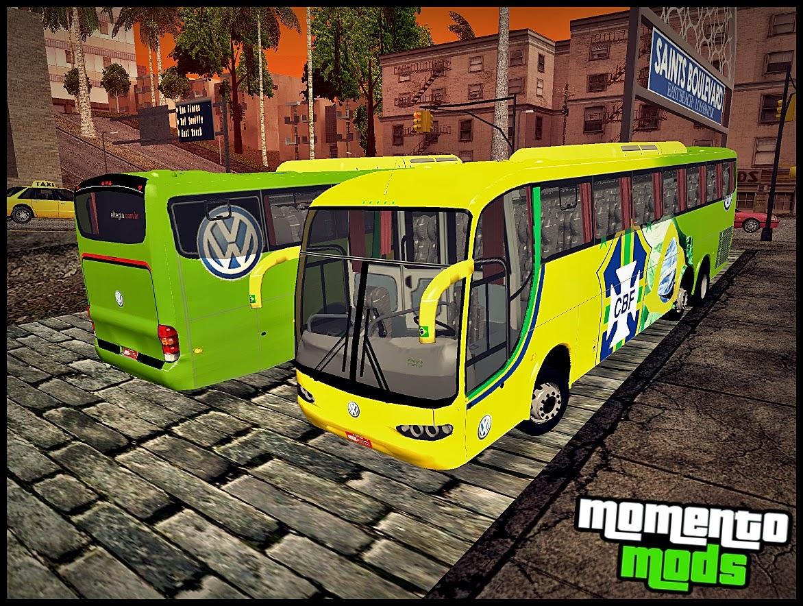 GTA SA - Ônibus Da Seleção Brasileira De Futebol