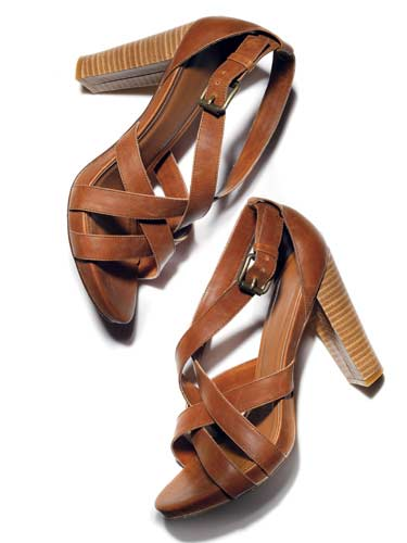 Wooden Stacked Heels Hottest Summer Shoe Trends
