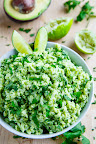 Avocado Cilantro Lime Rice