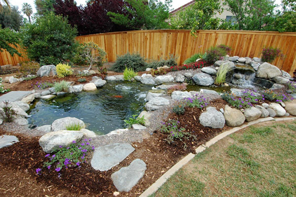 Garden design ideas preserve backyards ideas landscape an easy task to commence - Cheap pond ideas ...
