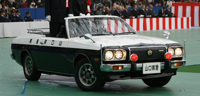 Mazda Cosmo, II, AP, police, car, policyjny, samochód, japoński, Yamaguchi, JDM