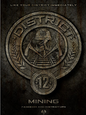 The Hunger Games District 12 Mining Poster