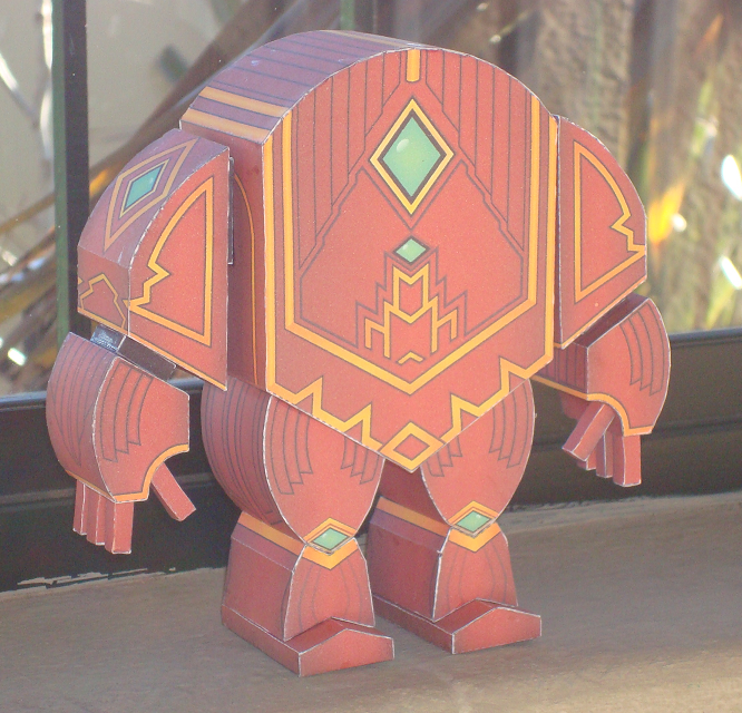 GW2 Paper Golem