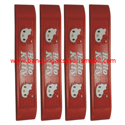 Door Guard Hello Kitty Merah