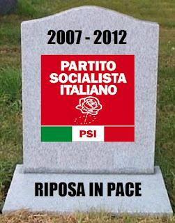 LA MORTE DEL PARTITO SOCIALISTA ITALIANO