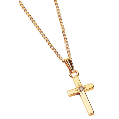 gold cross necklace Jewellery in Blog
