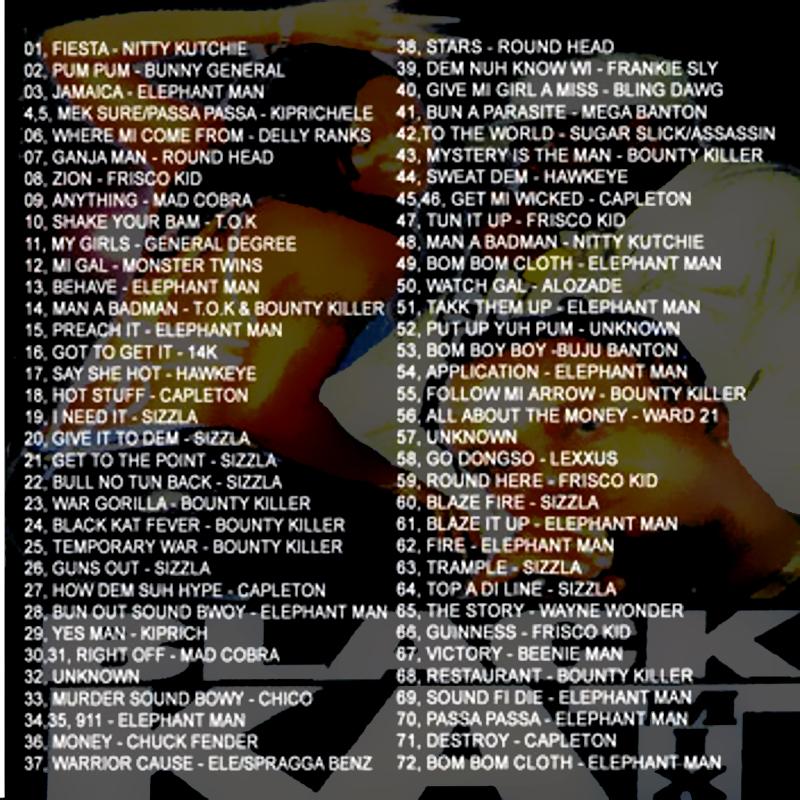 Black Cat Dubplate Mix