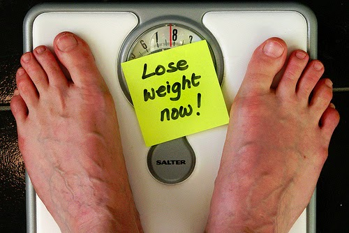 feet on scale overweight lose pounds