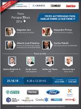 CONFERENCIA FORO PERSPECTIVAS 2016. EL CRONISTA.
