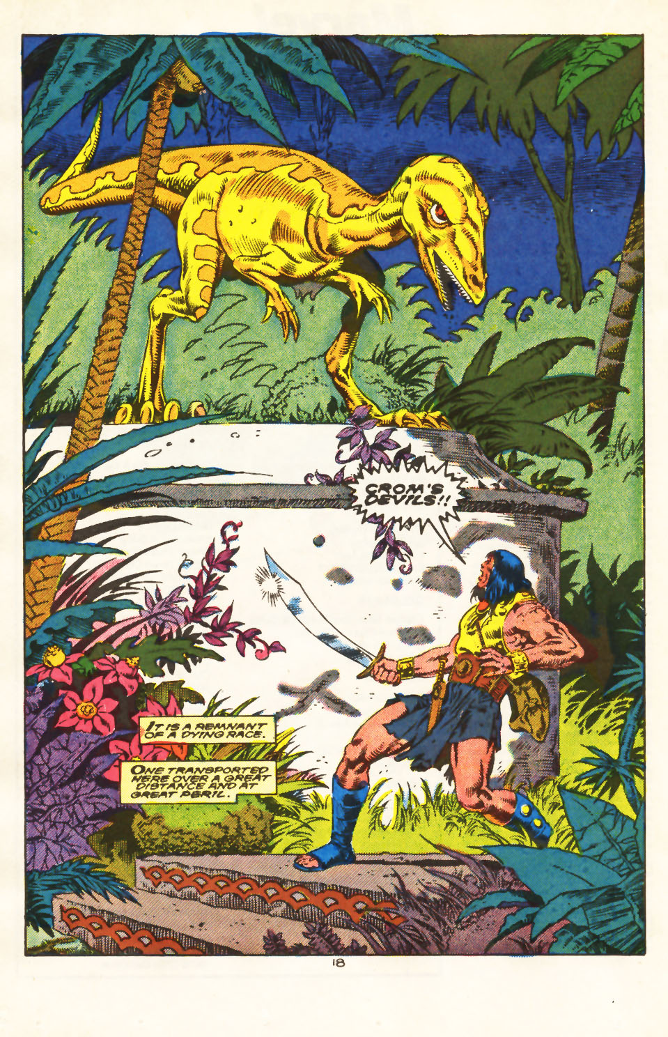 Conan the Barbarian (1970) Issue #213 #225 - English 14