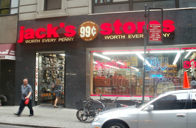 OK Now On To Jacks 99 Cents Store In East Midtownno I Am Not Kidding