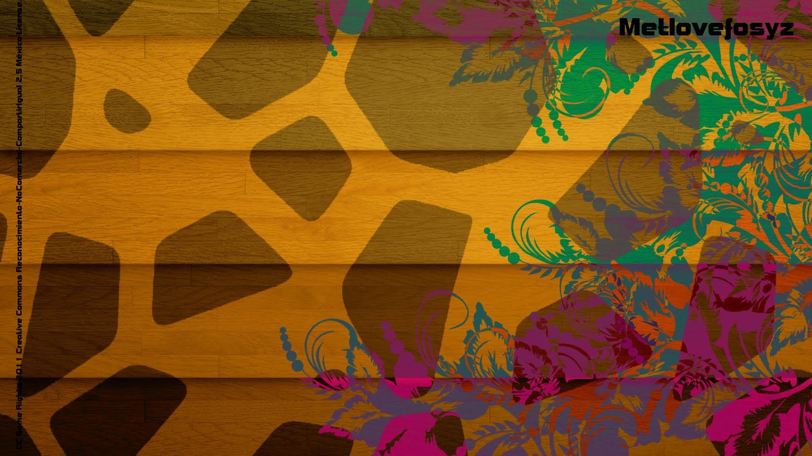 Papel tapiz jirafa - Imagui