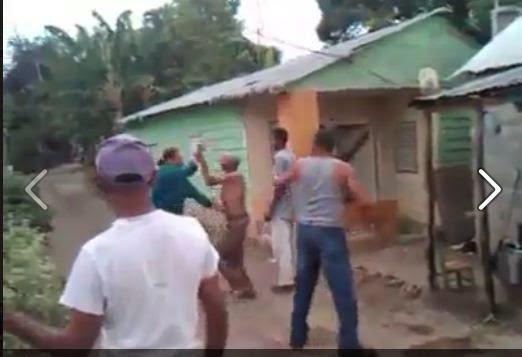 Pleito a lo DOMINICANO (VIDEO)