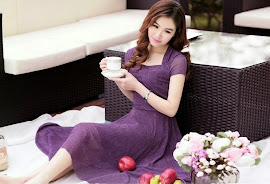 Soft Chiffon Cotton Irregular Knee Length Dress
