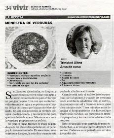 La Voz de Almería 20 Septiembre 2012