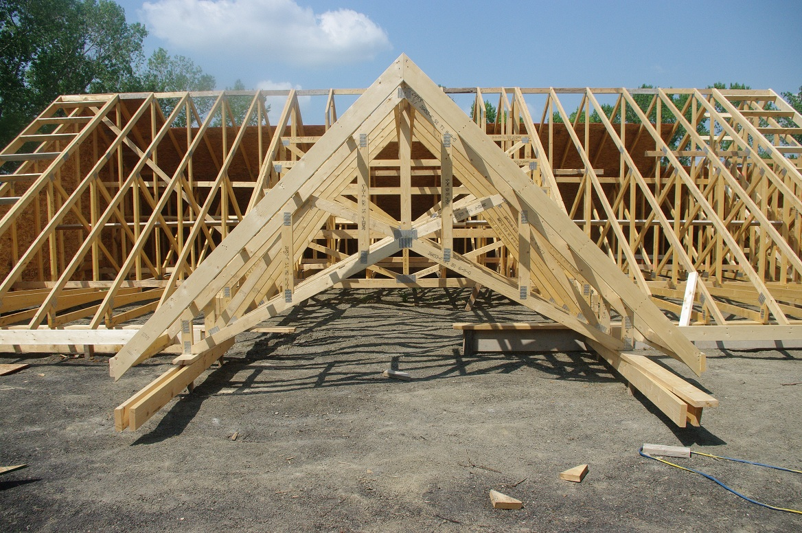 Thousand square feet owner building a home day 40 41 for How much are trusses
