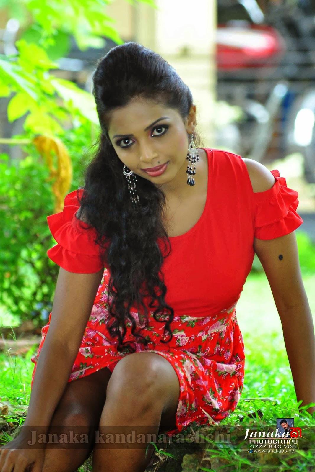 Lakshika Jayawardhana hot legs open