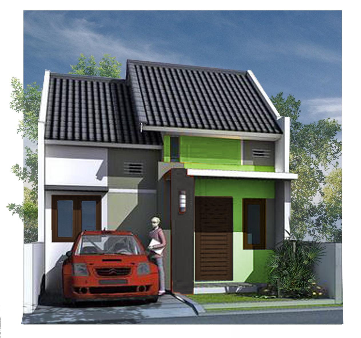 Model Denah Desain Pagar Dapur Rumah Minimalis Type 36