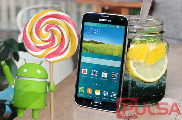 Akhirnya Samsung Galaxy S5 Dapat Update Lollipop