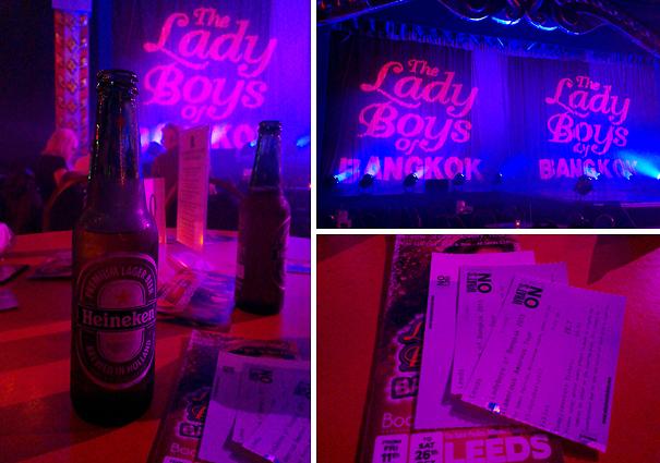 Event: YSL at Harvey Nichols and The Lady Boys of Bangkok Leeds ...