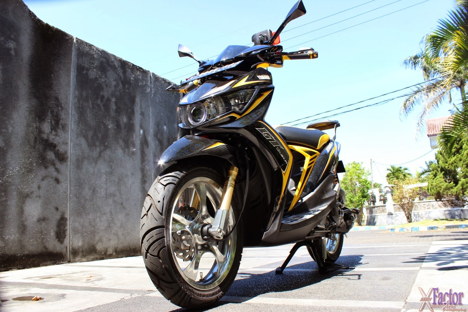 yamaha mio soul gt modifikasi | r-way collection