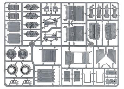 Matriz 3 Cañonera Stormraven de los Marines Espaciales