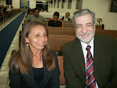 Miss: Vanusa Costa ao lado do Dr. Augustus Nicodemus