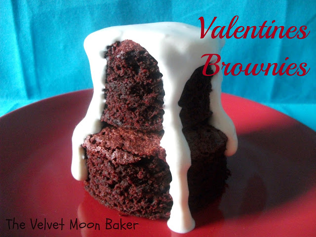 Valentines Brownies