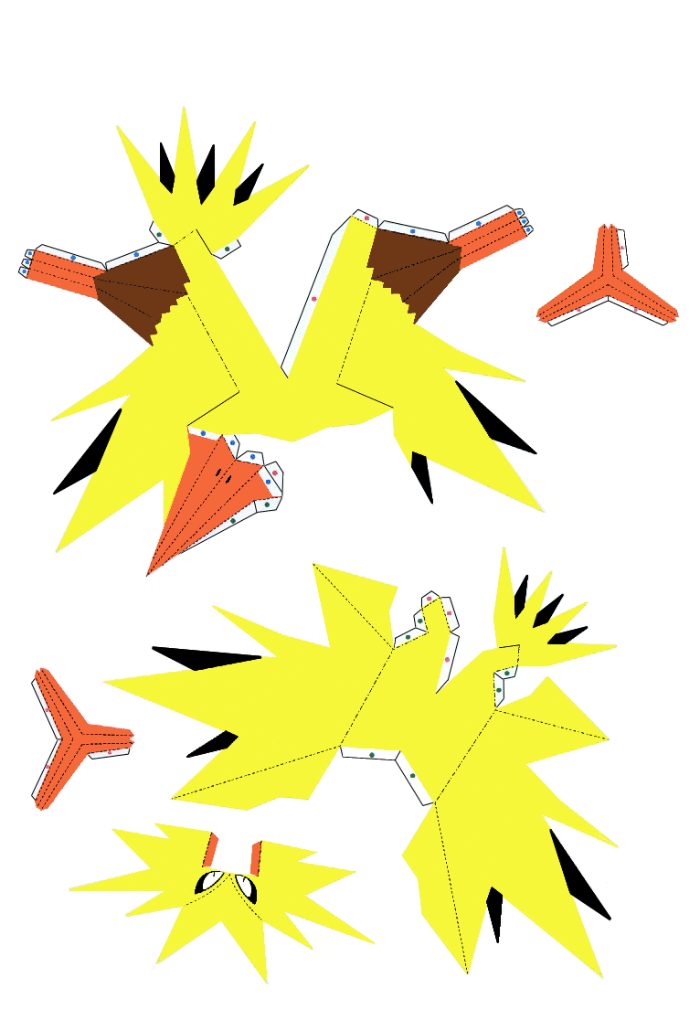 Paper craft México: papercraft pokemon