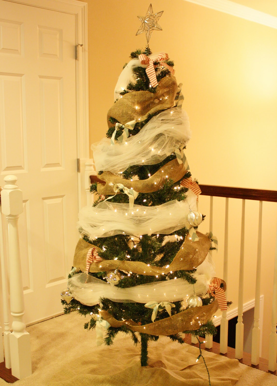 Christmas Tree With Tulle Garland Part - 26: Dress Corilynn