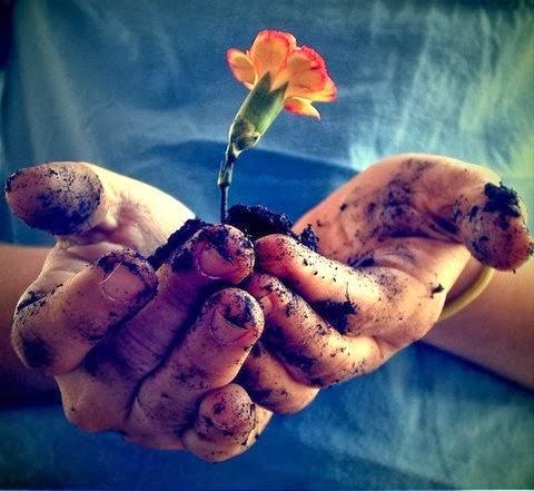 """""""Tenho apenas duas mãos e o sentimento do mundo."""""""