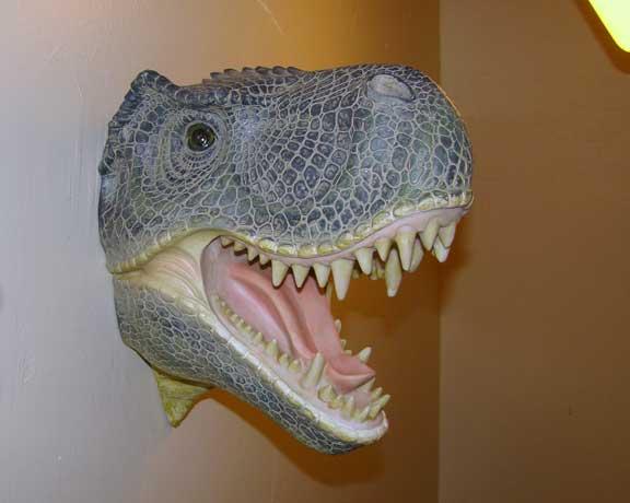 faux_taxidermy craft_taxidermy t-rex Tyrannosaurus_rex
