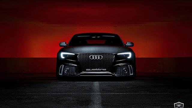 Fondo Audi S5 Negro