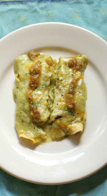 Quinoa & Vegetable Enchiladas: simplelivingeating.com