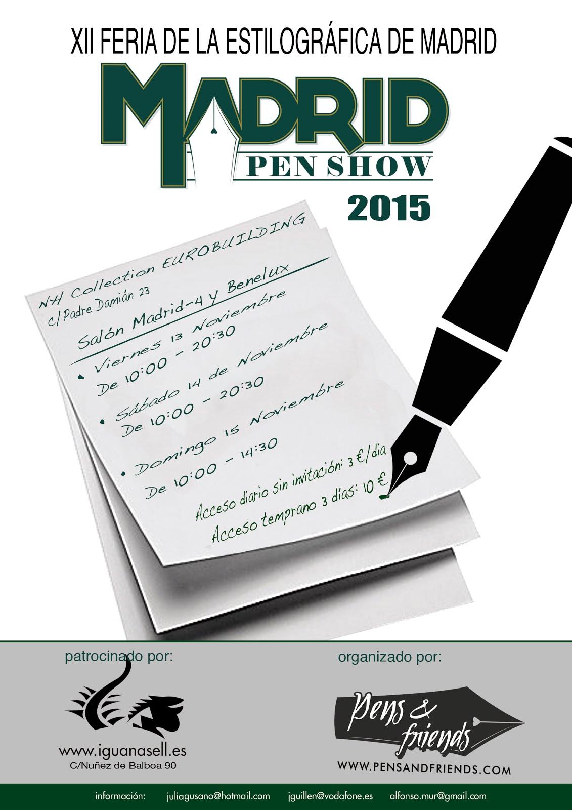 Madridpenshow 2015
