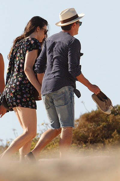 Liv Tyler and Dave Gardner in Formentera