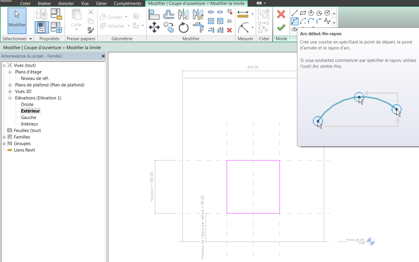 Revit m mo d cembre 2013 for Fenetre plan