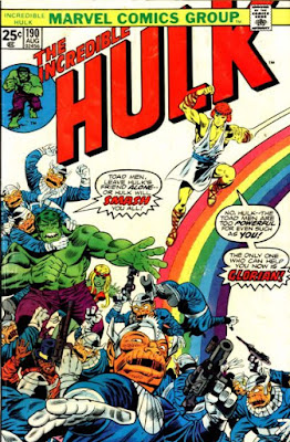 Incredible Hulk #190, Glorian and the Toad Men