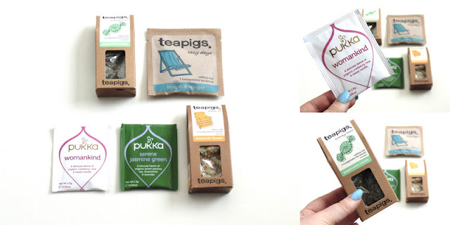 herbal tea giveaway vegetarian food blog