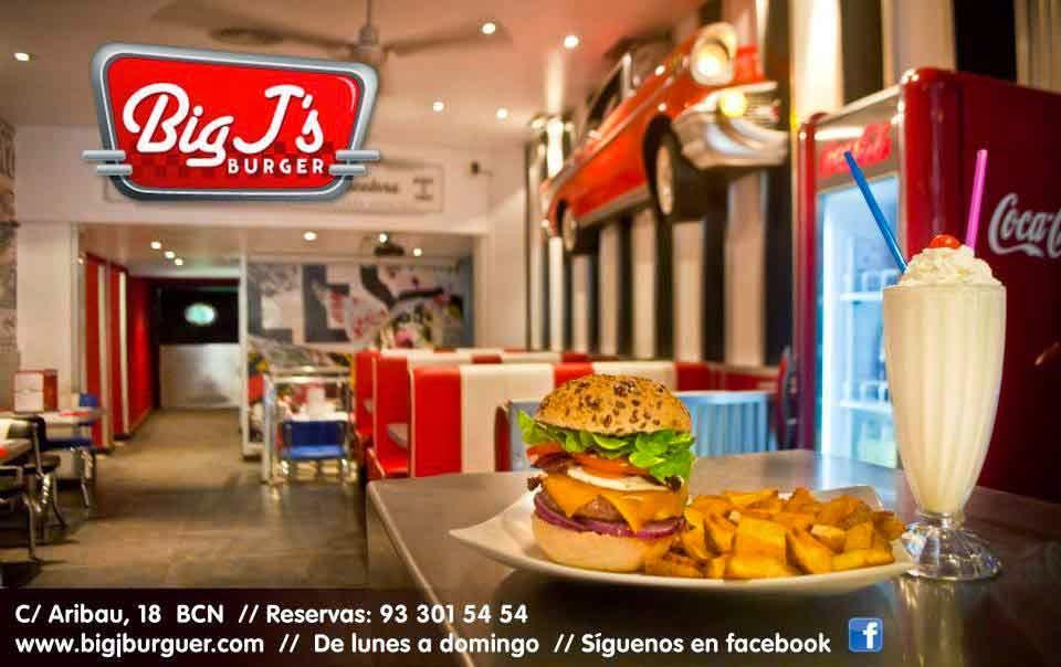 Big J's Burger Barcelona