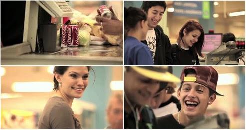 Campanha da Coca-Cola altera 'beep' das caixas de supermercado, confira...