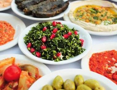 O que  comer  em Israel?