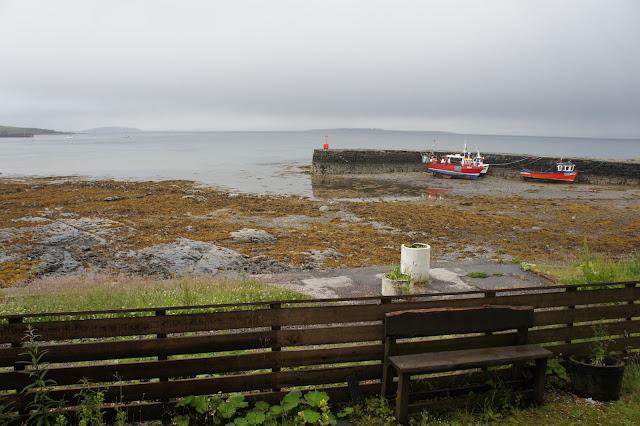 """Puerto de Broadford """"mini"""", desde la ventana del hotel"""