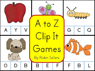 clothespin games for letter