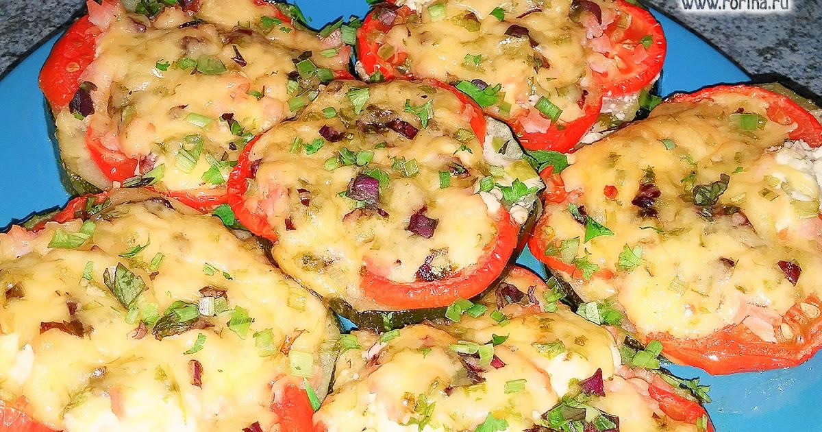 Жареные помидоры с сыром и чесноком рецепт пошагово